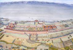 Italy - Roma (Rome) - Villa Albana - Palace of Domitian