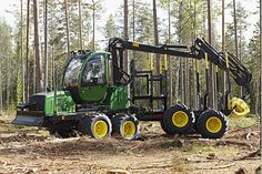 Our technology and special features make it easier for forestry professionals to find a machine that meets their needs. Logging Equipment, Heavy Equipment, John Deere Equipment, Agriculture, Sustainability, Construction, Earth, Vehicles, Big