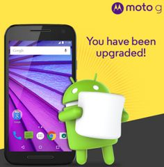 Android 6.0 Marshmallow rolling out to Moto G 3rd Gen smartphones in India