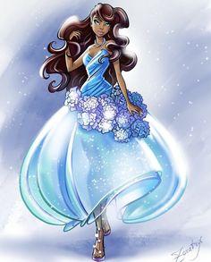 Winx Club, Princess Art, Disney Princess, Winx Cosplay, School For Good And Evil, Disney Jasmine, Princess Collection, Afro Art, Merfolk