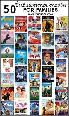 50 Summer Movies for Families