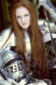 Virginia Hankins Lady Knight in Armor.jpg