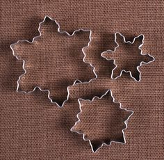 Use our snowflake cookie cutters in 3 sizes to make holiday sugar cookies and fun shaped rice crispy treats! To decorate your cookies, check out our large selection of sprinkles, frosting tips and foo