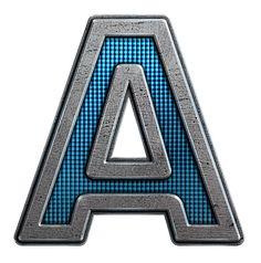 Alfabeto metalizado. | Oh my Alfabetos!
