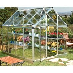 Snap and Grow Polycarbonate Greenhouse   Wayfair