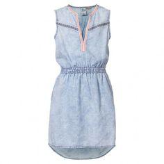 Petrol Industries DRS037 jurk junior bleached indigo De Wit Schijndel