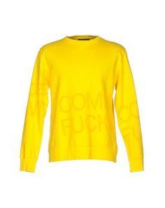 COMME DES FUCKDOWN Men's Sweatshirt Yellow L INT