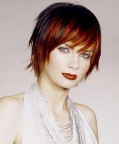 Rood kort haar