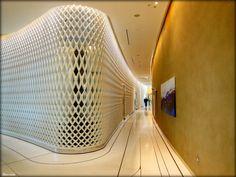 Arquitetura de hotel em Abu Dhabi