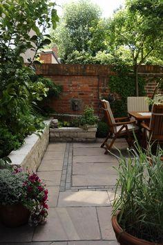 Kleine Gärten, Patio & Atrium › Zinsser Gartengestaltung, Schwimmteiche und Swimmingpools