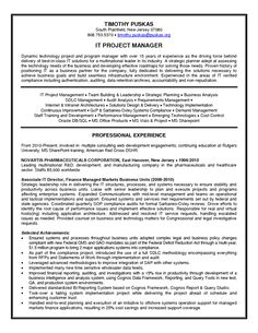 13 Technical Project Management | Riez Sample Resumes