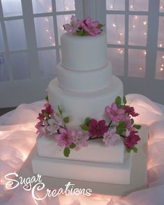 """John Wedding Cake"" by Sugar Creations"