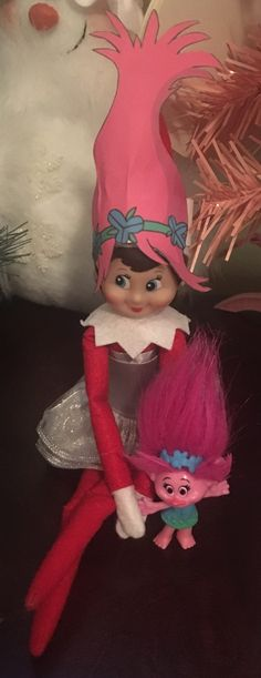 Troll hair - Elf on the shelf - Buddy The Elf Christmas Elf, Winter Christmas, Griswold Christmas, Christmas Carol, Christmas 2017, Christmas Ideas, Christmas Crafts, Christmas Activities, Christmas Traditions