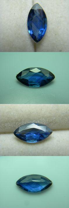 Natural Sapphires 4644: Rare Blue Bangkaja Sapphire Gem Beautiful Marquise Gemstone Genuine Thailand -> BUY IT NOW ONLY: $149.99 on eBay!