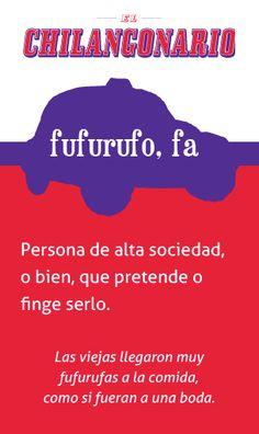 La palabra de la semana en @ElChingonario: #fufurufo