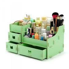 Resultado de imagen para organizadores de maquillaje reciclados