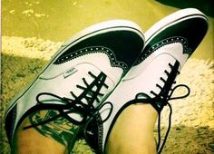 Vans saddle shoes. could life get any better?