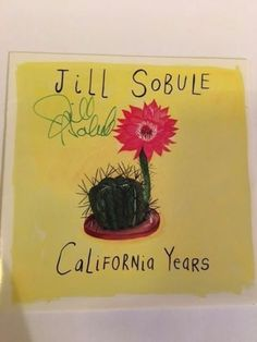 JILL-SOBULE-California-Years-Slimline-CD-RARE-SIGNED-Like-New