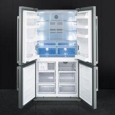 SMEG Side by Side Amerikanische Kühlschrank FQ60XP