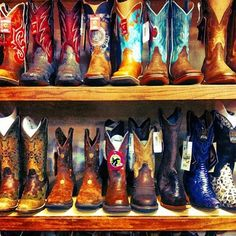 Leather... Need all these boots.. Now!