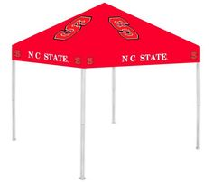 North Carolina State Wolfpack NCAA 9' x 9' Ultimate Tailgate Pop-Up Canopy Tent
