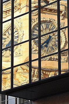 Paris Gare de Lyon Reflection