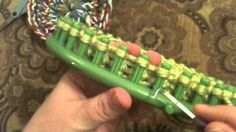 Loom Knit: Granny Round, via YouTube.  pot holders, bag bases, scrubbies, quilt or scarf circles