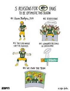 5 Reasons For Packer Fans to be Optimistic This Season