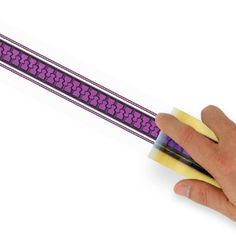Etsy offers CHIARI DECOMPRESSION themed zipper tape in purple for $8. #zipper #brain #purple #surgery #head #chiari #malformation #Decompression #pain #headache #conquerchiari