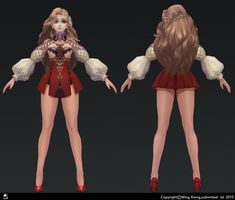 ArtStation - 3d hand painting, Xiong Ming