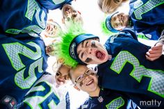 The Future 12th Men and Women, Seahawks Photos of Kids by Matty Photography