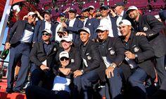 USA Ryder Cup Celebration | RyderCup.com Ryder Cup Team, Great Team, News Media, Golf, Celebrities, Usa, Life, Celebs, Celebrity