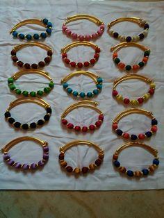 To order whatsapp on 9703870603 #silkthreadbangles#silkthread#bangles#cityfashions#jewellary