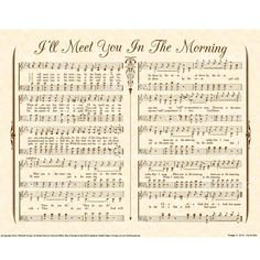 will meet you in the morning hymn lyrics