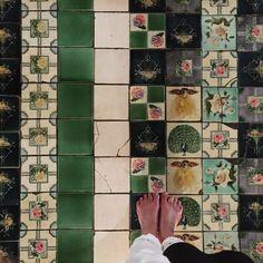 """""""Bagan green 2/ altar #SummerSoulSafari15"""""""