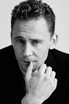 Tom Hiddleston photographed by Jens Langkjaer.