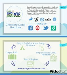 How to choose Camp Horizons! #summercamp #camp