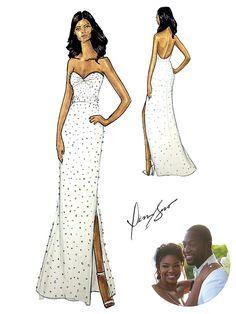 Gabrielle union wedding dress google search wedding dresses gabrielle union wedding dress junglespirit Images