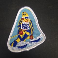 Vintage Weltcup patch. #skiing