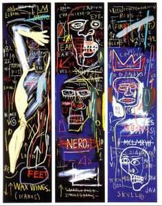 Jean- Michel Basquiat - Urban Art - Underground Style - Neo Expressionism