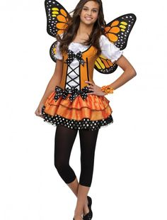 Teen Butterfly Queen Costume