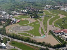 Fiorano Circuit : Motor Valley, Italy....land of Ferrari
