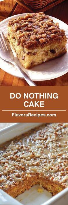 DO NOTHING CAKE