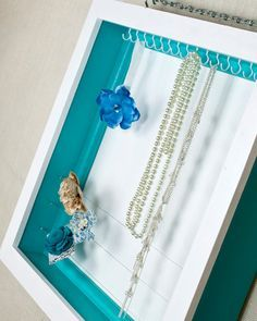 050265a153f Jewelry Display - Bows, Accessories - Craft Shows, Craft Fairs, Events,  Store Display - Tiffany Blue, Aqua, Turquoise