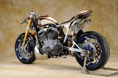 """Avanzare"" by Asterisk Custom Cycles"