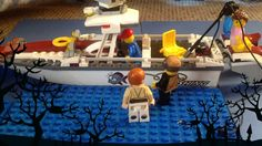 Jesus Walks on Water - lego stopmotion