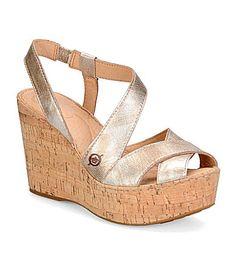 Born Venetia Wedge Sandals #Dillards