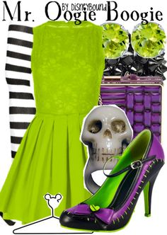 I'm not too big of a fan of oogie boogie but I think this outfit is cute