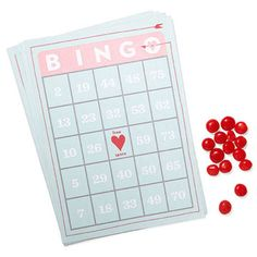 Candy can mark the spots on this festive #Valentine's Day Bingo game card! http://www.parents.com/holiday/valentines-day/printables/free-valentine-printables/?socsrc=pmmpin130118HnCValentinesBingo#page=2
