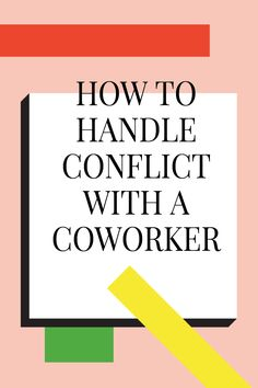 This article has some great tips for getting through the most awkward moments and figuring out how to handle some difficult workplace conversations. Conflict with co-workers can really effect your life and could possibly result in you losing your job. How To Handle Conflict, Workplace Bullying, Conflict Management, Difficult Conversations, Communication Skills, Leadership Development, Leadership Traits, Leadership Coaching, Professional Development